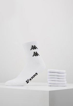 6 PACK - Strumpor - bright white