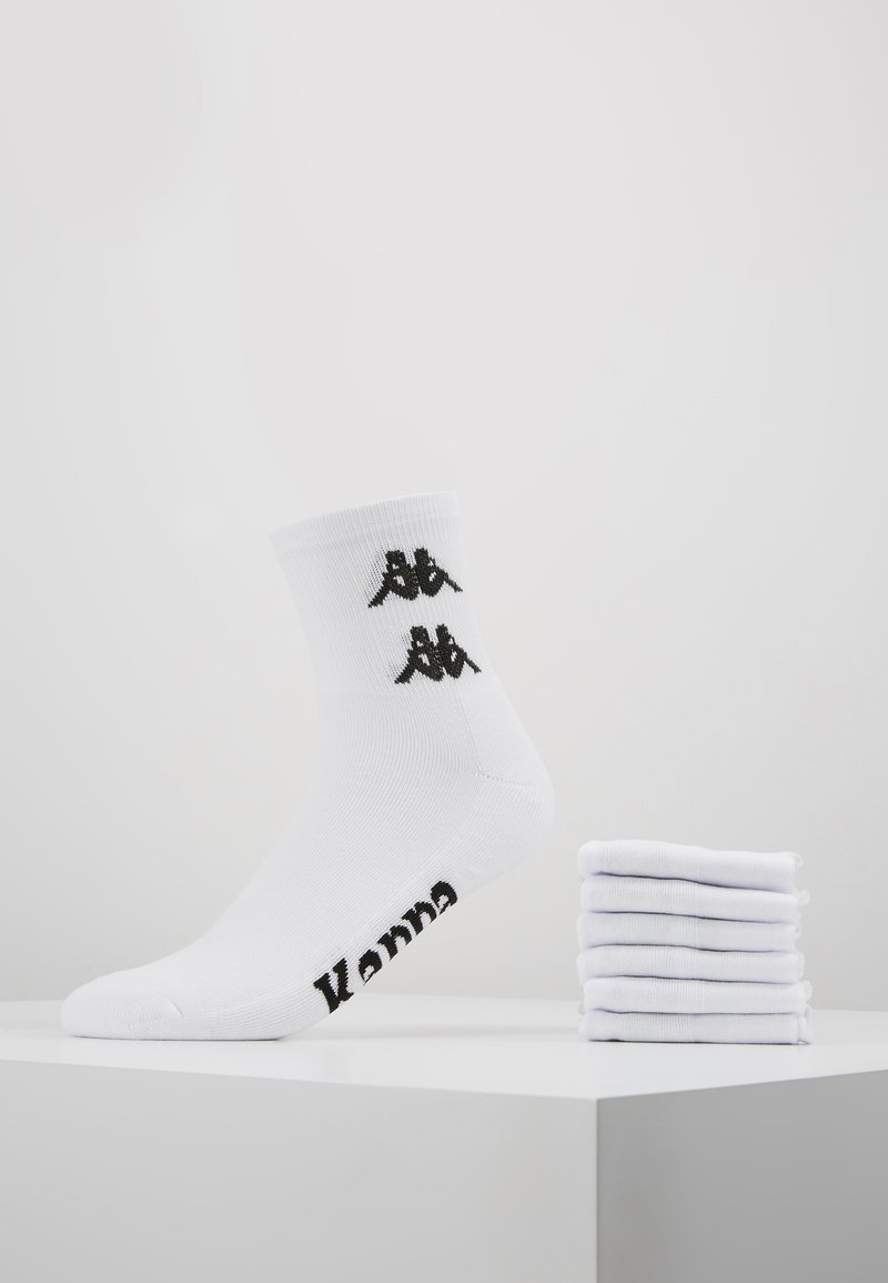 Kappa - 6 PACK - Calze - bright white
