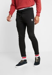11 DEGREES - Spodnie treningowe - black - 0