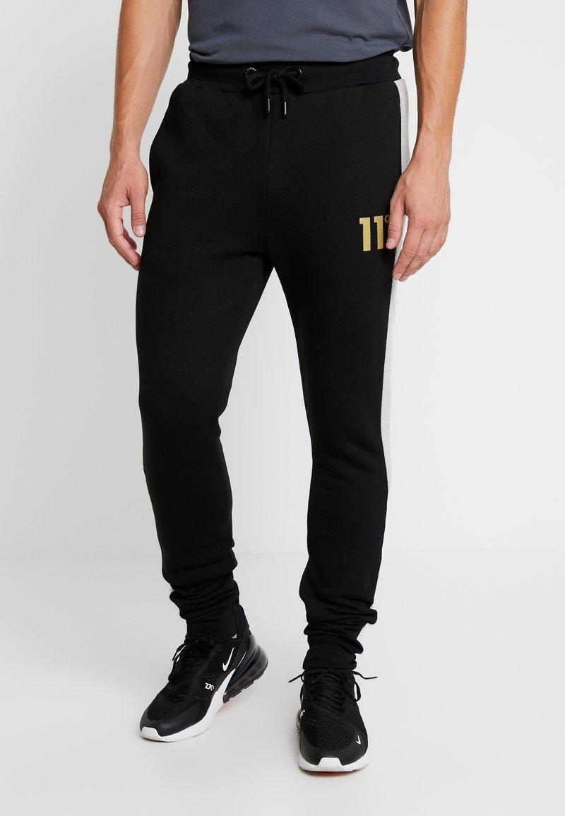 11 DEGREES - TAPED JOGGERS  - Pantalon de survêtement - light grey marl/black