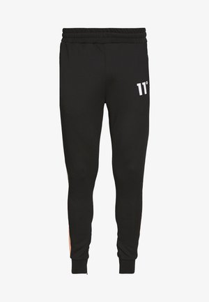 PANEL BLOCK TRACK PANTS - Pantalones deportivos - peach melba/black/white