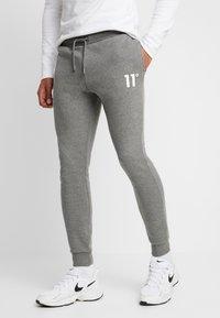 11 DEGREES - CORE JOGGERS  - Pantalones deportivos - charcoal - 0