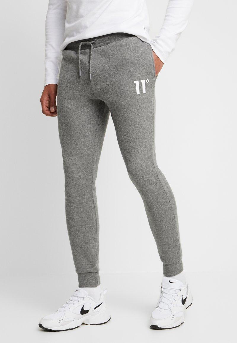 11 DEGREES - CORE JOGGERS  - Pantalones deportivos - charcoal