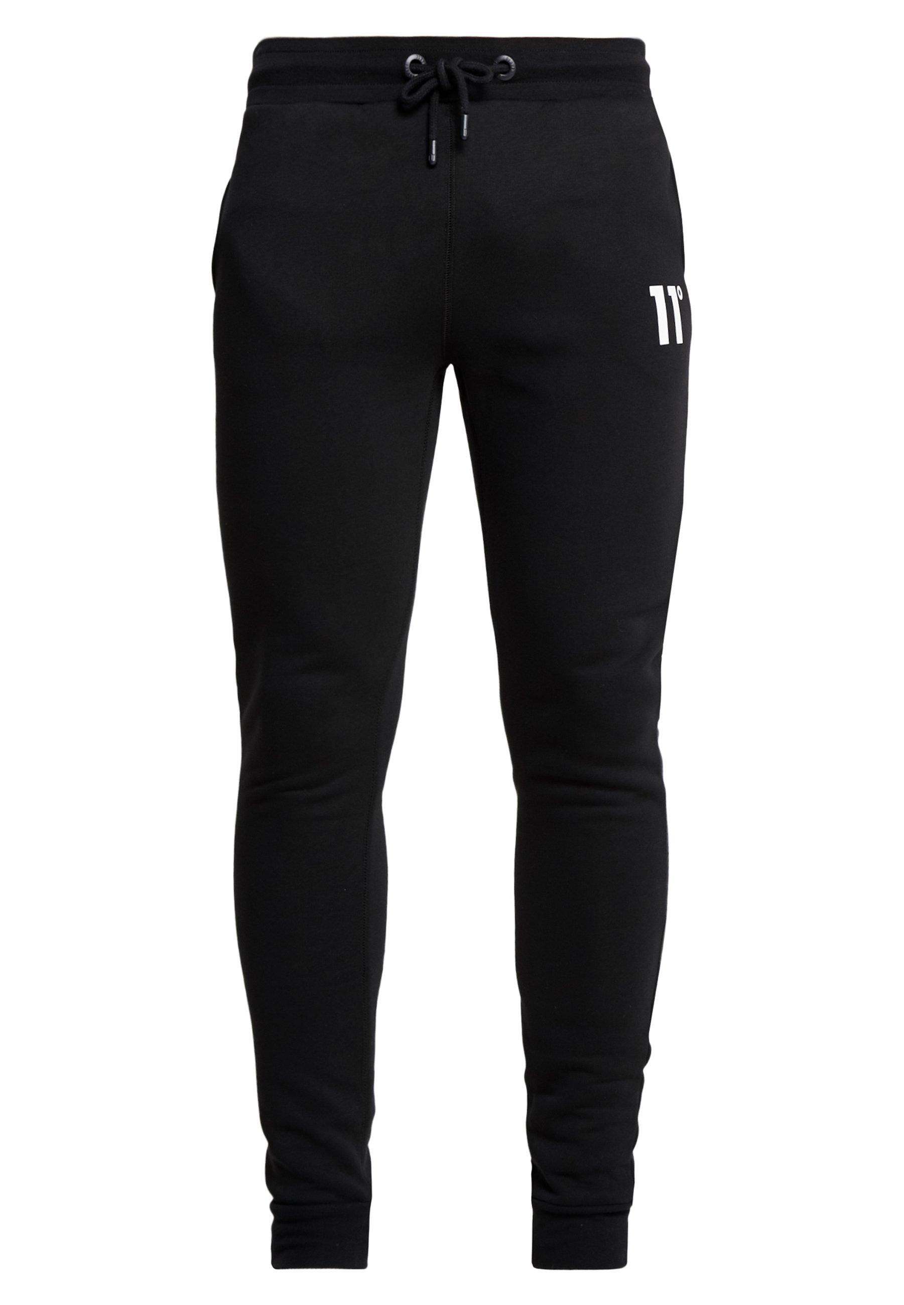 11 DEGREES CORE JOGGERS - Spodnie treningowe - black