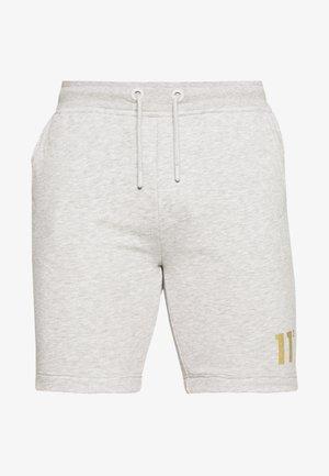 TAPED - Trainingsbroek - light grey marl/gold