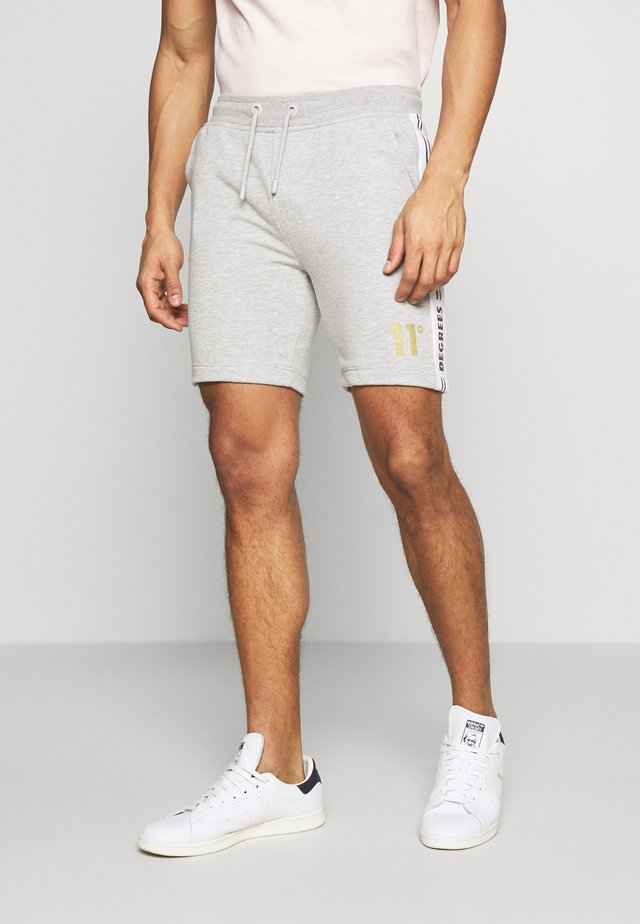 TAPED - Jogginghose - light grey marl/gold