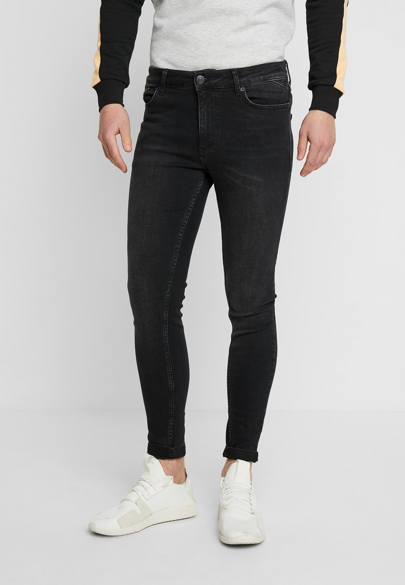 11 DEGREES - ESSENTIAL - Jeans Skinny Fit - washed black