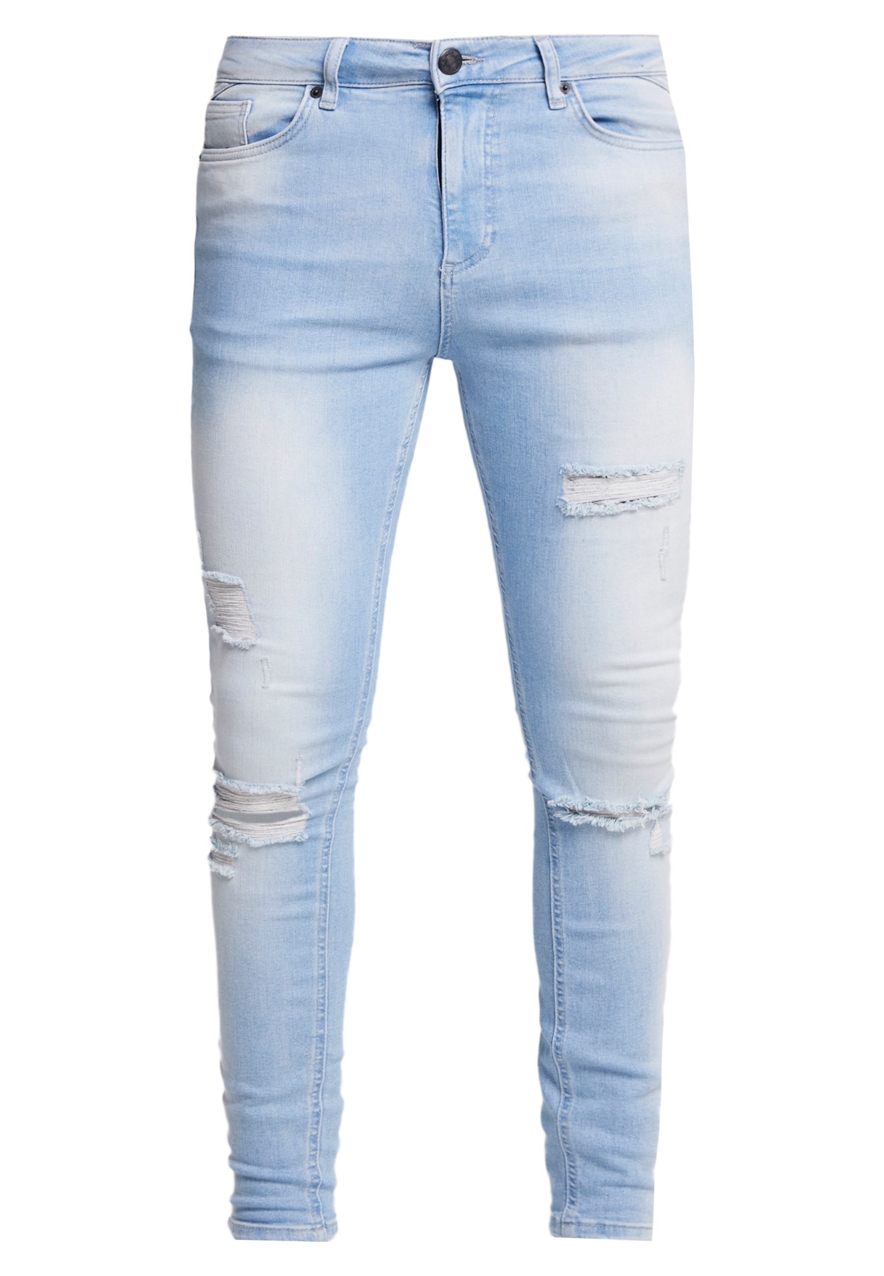 11 Degrees Essential Distressed - Jeans Skinny Fit Stone Wash