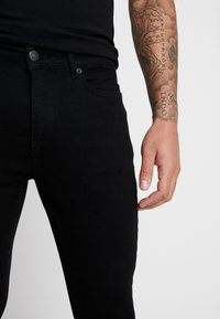 11 DEGREES - ESSENTIAL DISTRESSED - Jeans Skinny Fit - jet black - 4