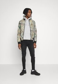11 DEGREES - ESSENTIAL DISTRESSED - Jeans Skinny - washed black - 1