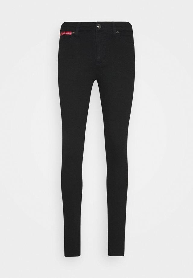 ESSENTIAL SUPER STRETCH - Jeans Skinny Fit - jet black