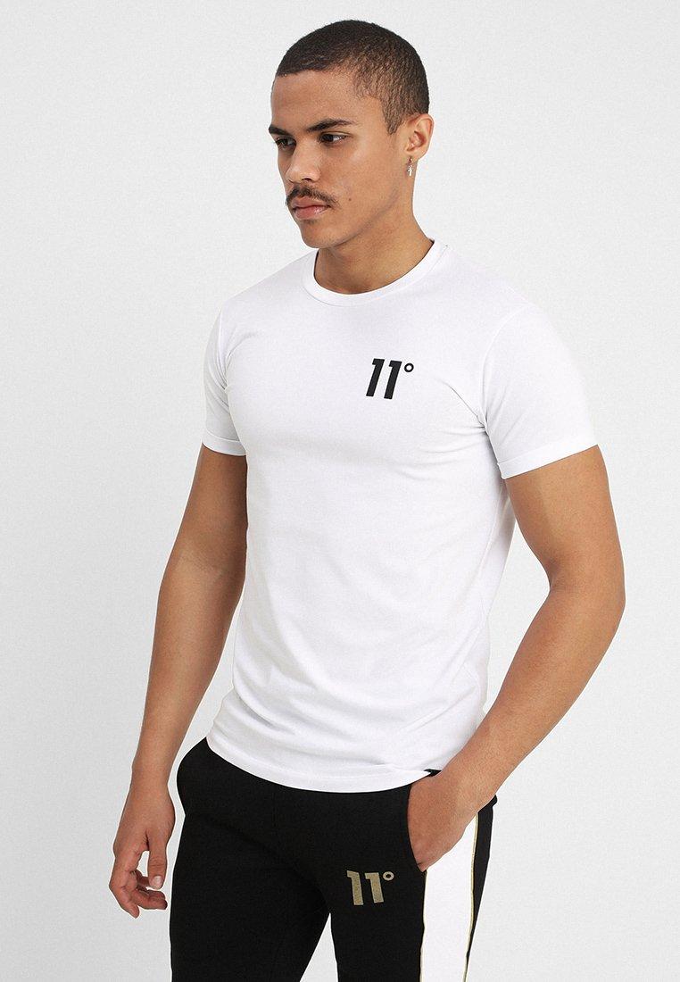 11 DEGREES - CORE MUSCLE FIT - T-shirt basique - white