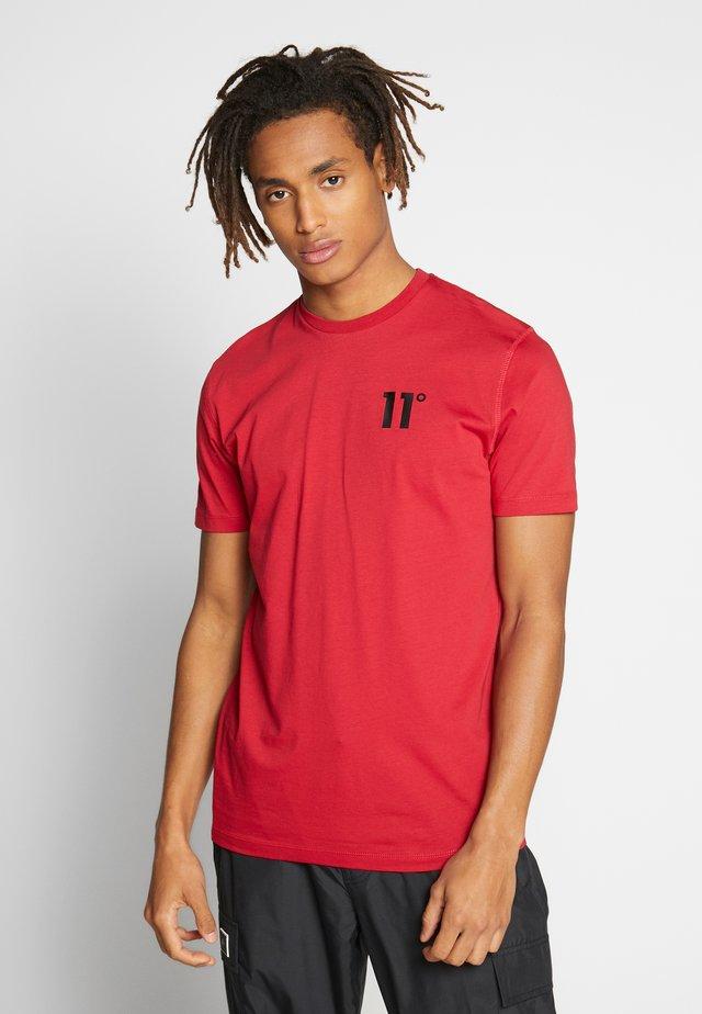 CORE  - T-shirt basic - ski patrol red