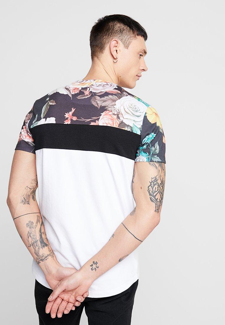 DEGREES 11 SUB print PANELT Shirt blackwhite TRIPLE BodQrCeExW