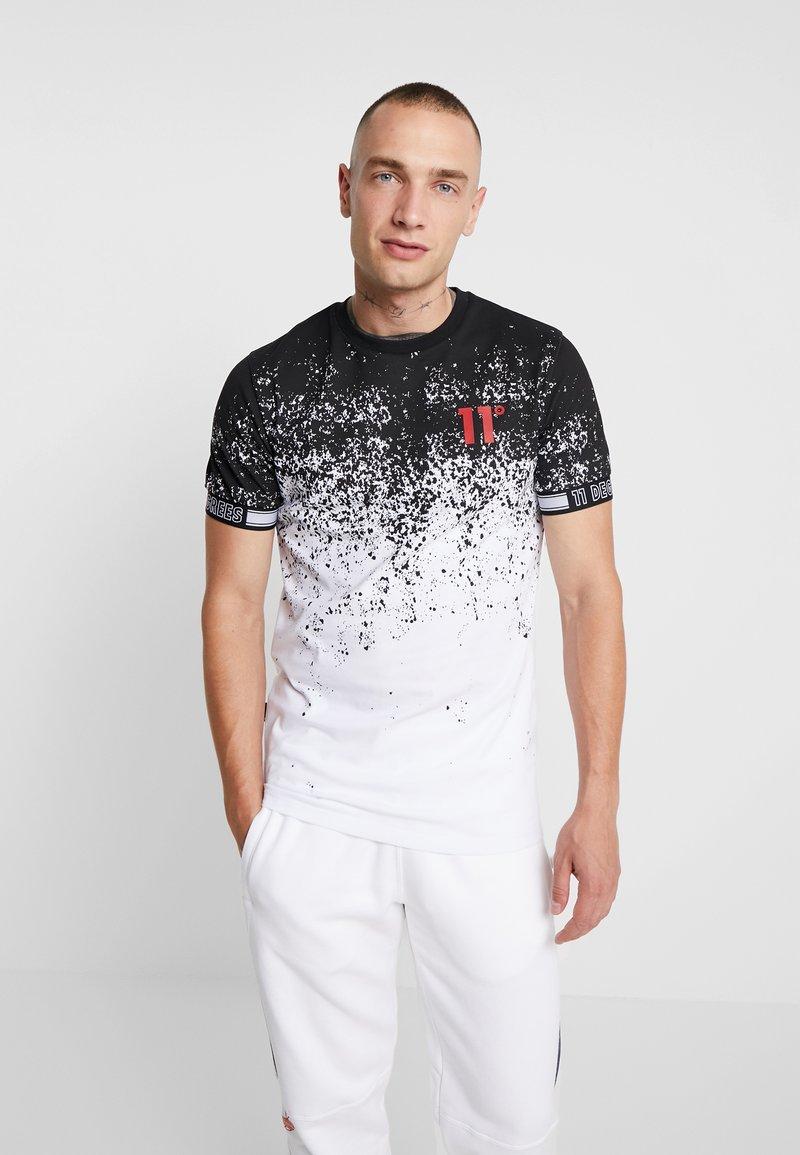 11 DEGREES - METEOR  - T-shirt imprimé - white