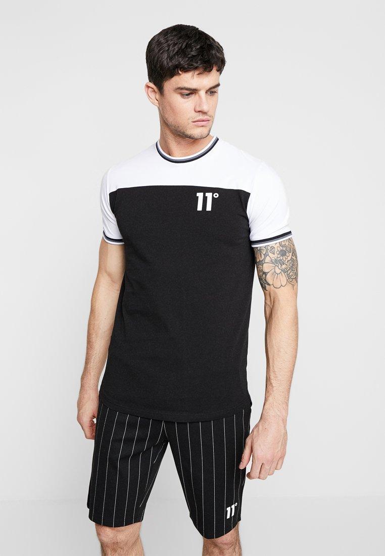 Imprimé shirt 11 White RibbedT Sew black Degrees Cut trQdsh