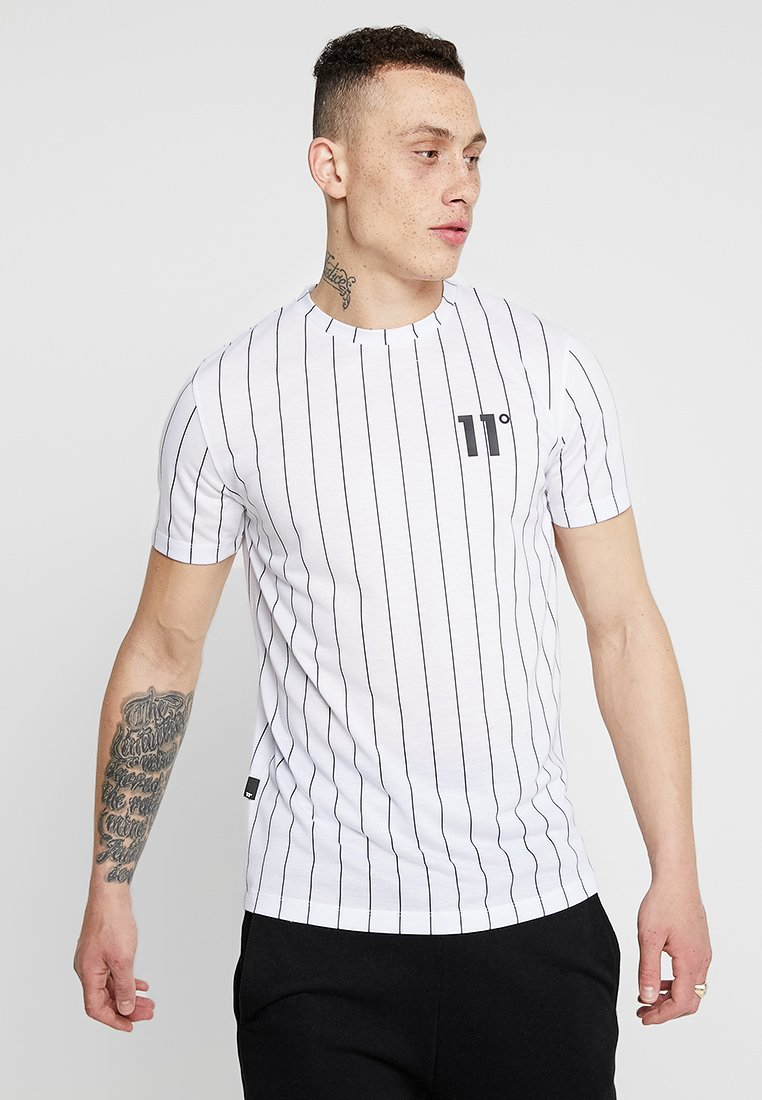 Degrees shirt Imprimé black 11 StripeT White MVpUSLqGz