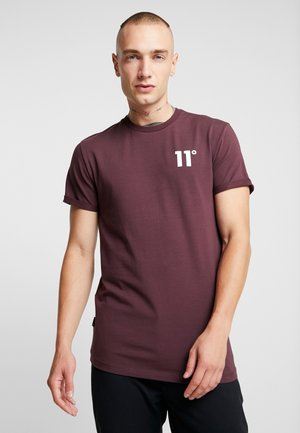 MUSCLE CORE - T-shirts - mulled red