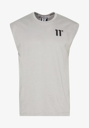 CORE CUT OFF SLEEVE  - T-shirt basic - silver