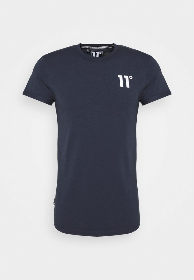 CORE MUSCLE FIT - T-Shirt print - navy