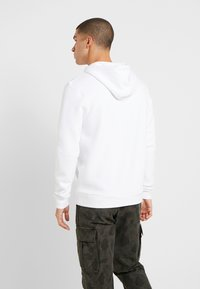 11 DEGREES - CORE HOODIE - Mikina s kapucí - white - 2