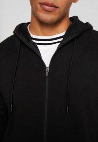 11 DEGREES - FULL ZIP HOODIE - Bluza rozpinana - black - 5