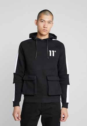 HOODIE WITH UTILITY POCKETS - Sweat à capuche - black