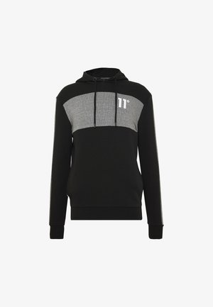 HERRINGBONE  - Sweat à capuche - black