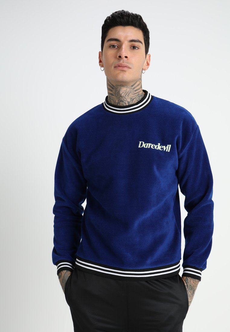 12 Midnight - DAREDEVIL WITH CONTRAST - Sweatshirts - colbalt blue