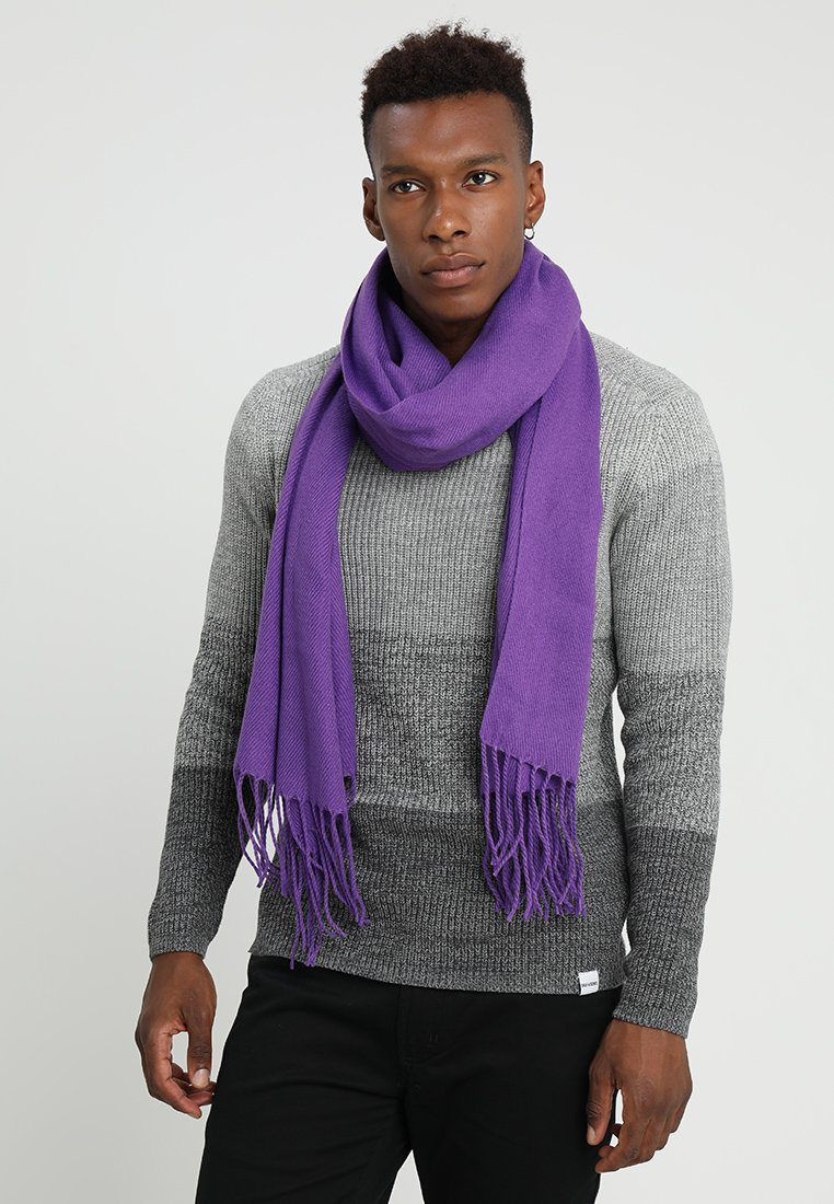 12 Midnight - BLANKET SCARF - Halsduk - purple