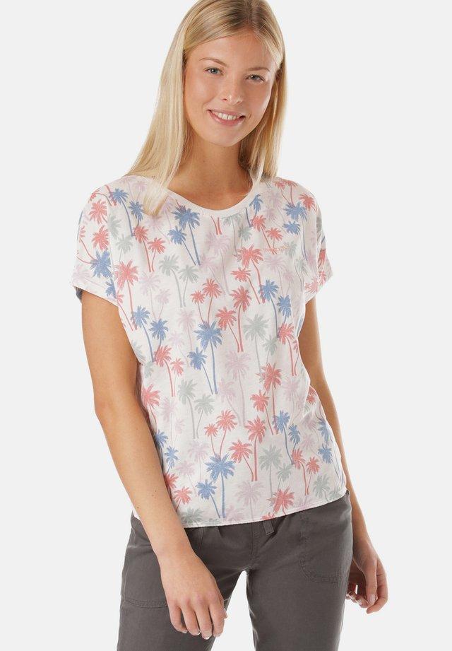 MELISSA - T-shirt med print - white