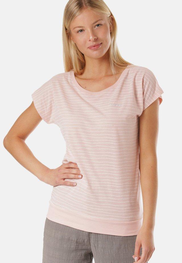 DERRY - T-shirt med print - pink