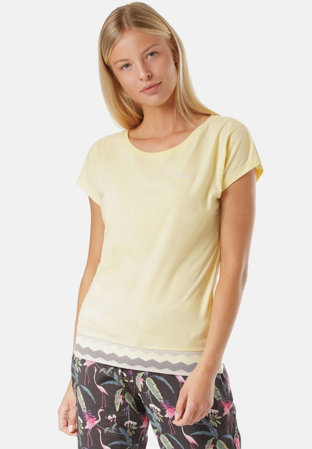 T-shirt - bas - yellow