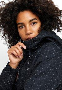 Mazine - LIBRARY - Winter jacket - mottled black - 4