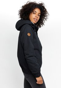 Mazine - LIBRARY - Winter jacket - mottled black