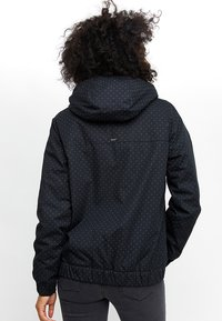 Mazine - LIBRARY - Winter jacket - mottled black - 1