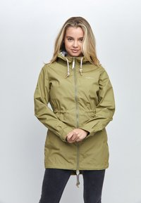 Mazine - LIBRARY LIGHT - Parka - light olive - 0