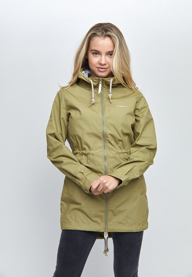 Mazine - LIBRARY LIGHT - Parka - light olive