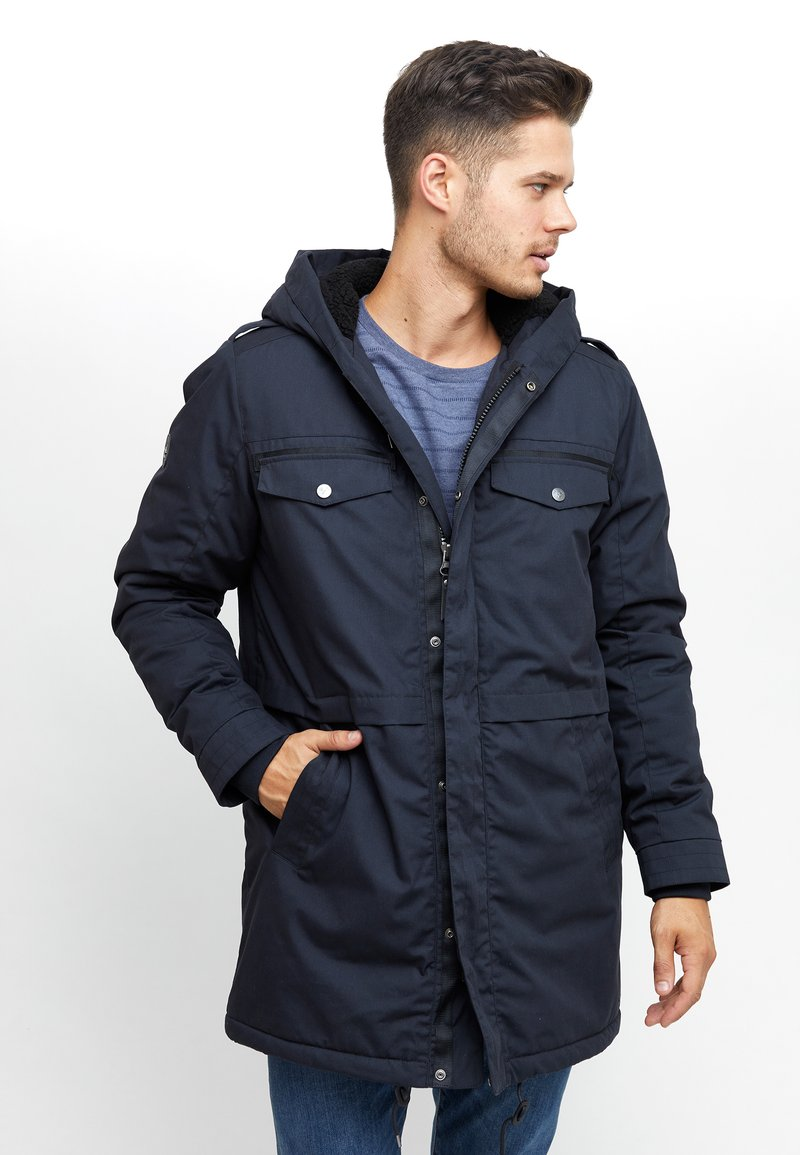 Mazine - WARRINGTON  - Wintermantel - dark navy