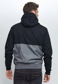 Mazine - CAMPUS CLASSIC - Korte jassen - black/grey melange - 1