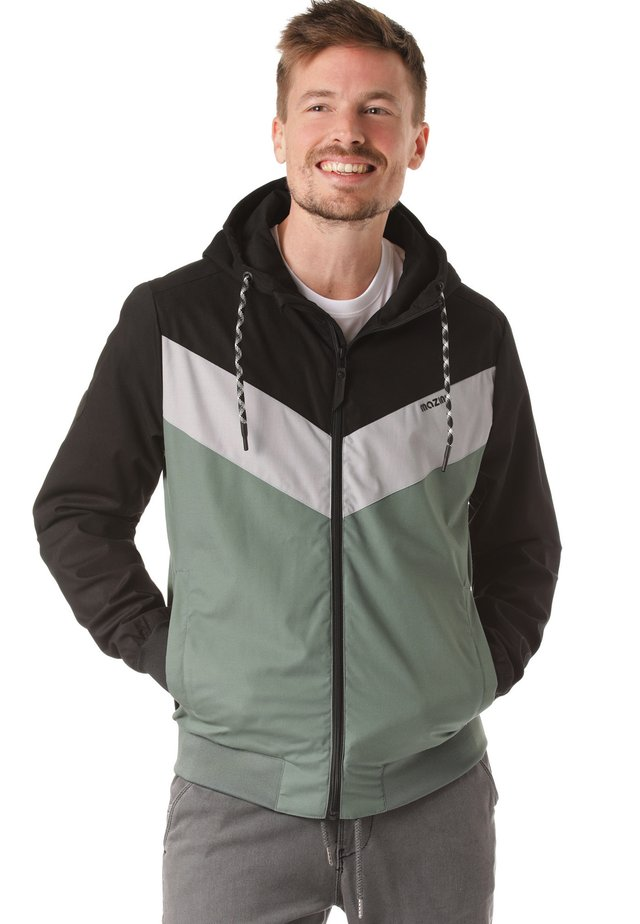 DUNS LIGHT - Outdoorjacka - black