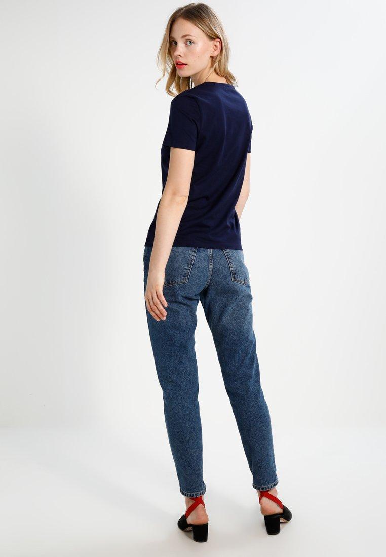 Lacoste T shirt T BasiqueNavy BasiqueNavy Blue Lacoste shirt mN0yw8Ovn