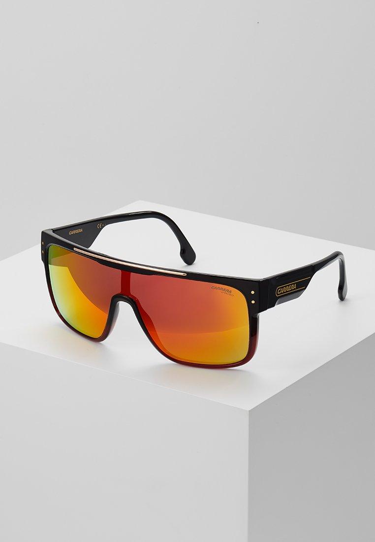 Carrera - CA FLAGTOP II - Sunglasses - black/red
