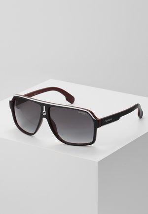 Sunglasses - black/dark red