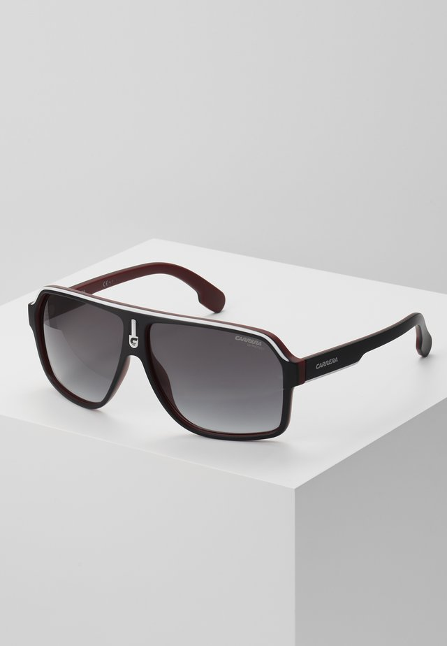 Sunglasses - black/dark red