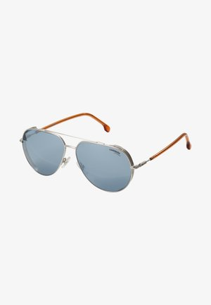 CARRERA  - Lunettes de soleil - silver-coloured/brown