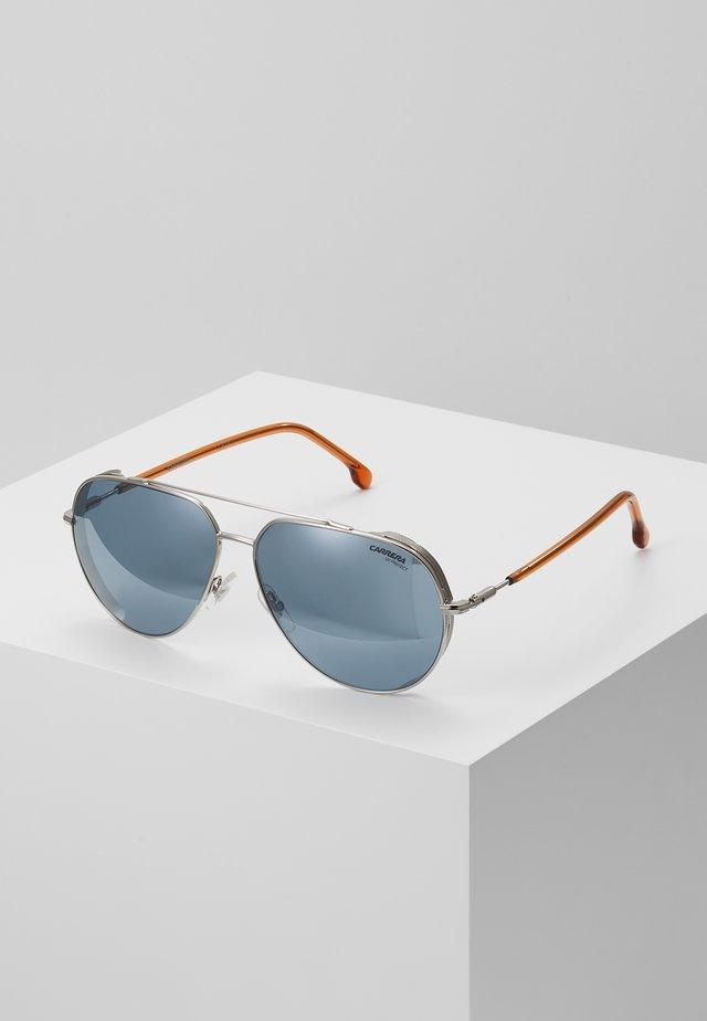 CARRERA  - Okulary przeciwsłoneczne - silver-coloured/brown
