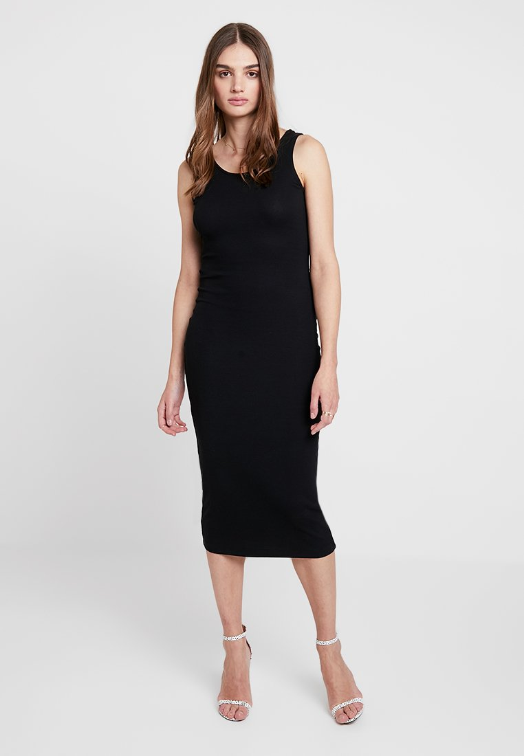 New Look - PLAIN LESS MIDI - Maxikleid - black