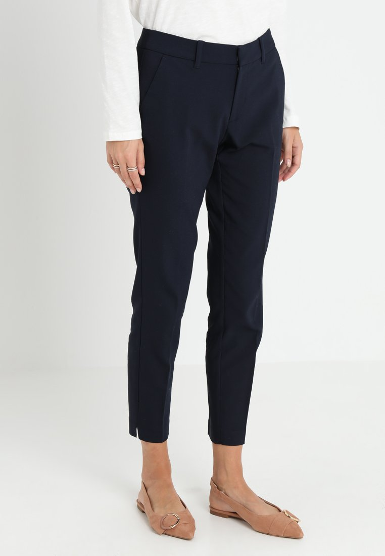 s.Oliver - SHAPE ANKLE - Trousers - navy