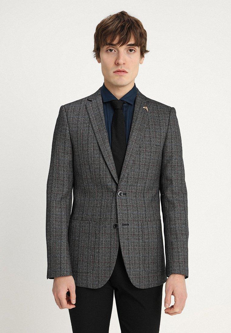1904 - OTLEY GRINDLE CHECK - Blazer jacket - black